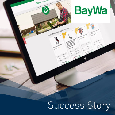 BayWa E-Commerce Plattform