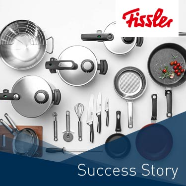 Fissler Content-Commerce-Plattform