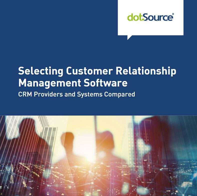 Whitepaper selecting customer-relationship-management-software