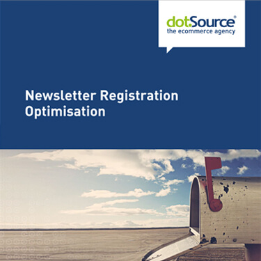 dotSource Whitepaper Newsletter Registration Optimisation